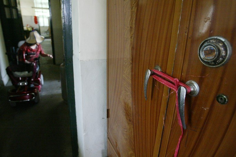 貞德舍為樂生院女性宿舍,攝於2005年。 圖/聯合報系資料照