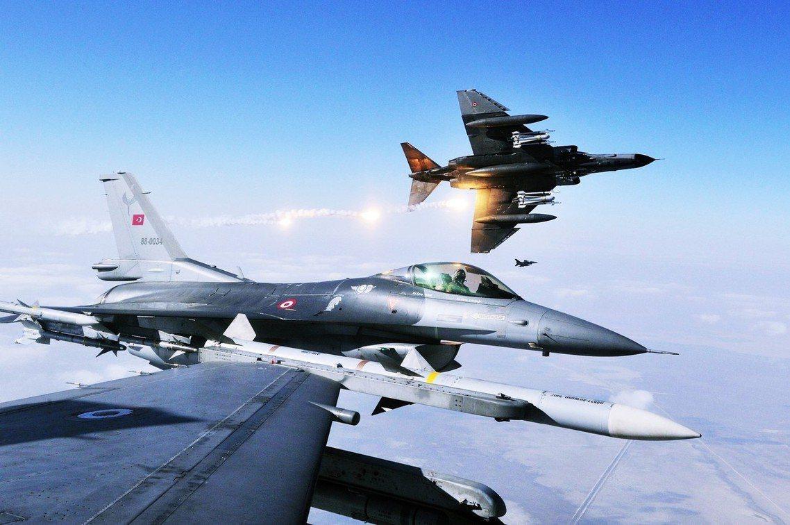 圖為土耳其空軍。 圖/土耳其國防部