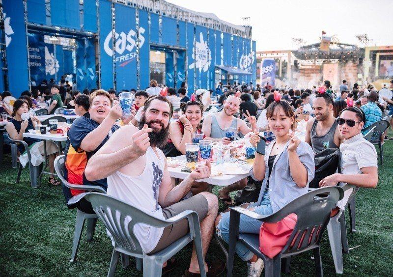 大邱炸雞啤酒節總能吸引國際旅客到場同歡。 大邱廣域市駐台觀光推廣辦事處/提供