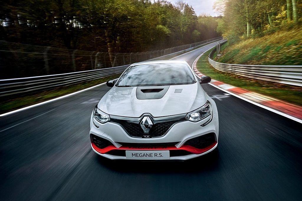Renault Mégane R.S. Trophy-R不僅是目前紐柏林北環賽道...