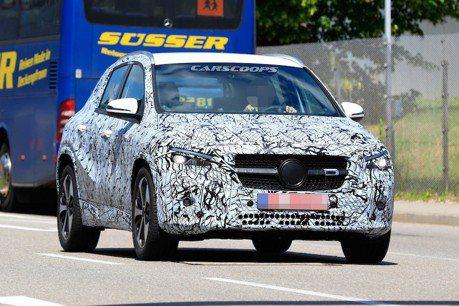 新世代Mercedes-Benz GLA即將登場 九月法蘭克福車展有望亮相