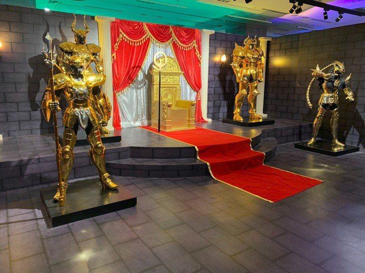 「聖鬥士星矢」全台唯一30周年特展,6月28日起在A9 9樓正式開展。圖/新光三...