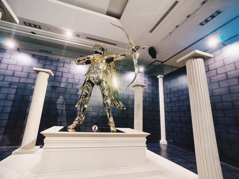 「聖鬥士星矢」全台唯一30周年特展,6月28日起在A9 9樓正式開展。圖/新光三越提供