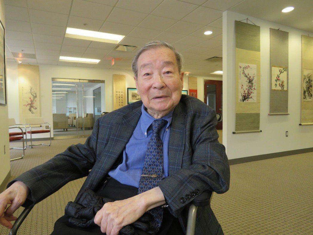 美中政策基金會主席王冀。華盛頓記者張加/攝影