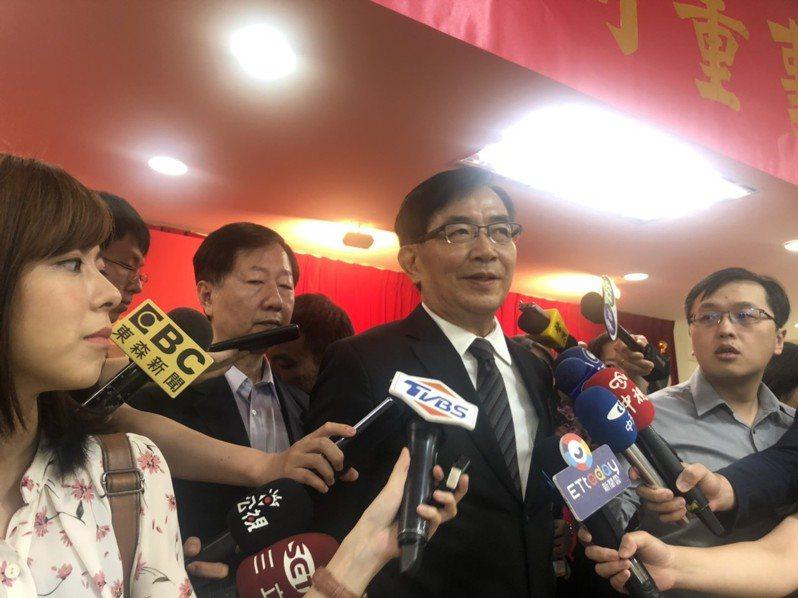 中華郵政公司董事長吳宏謀。記者侯俐安/攝影