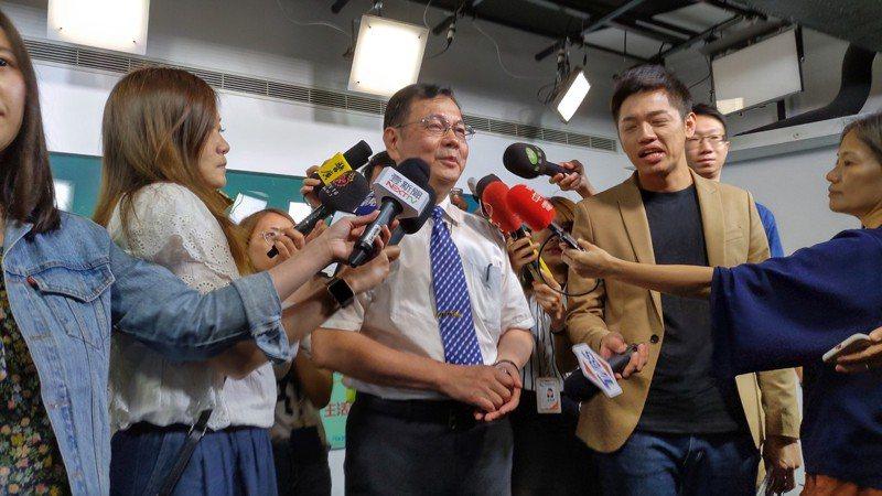 氣象局預報中心主任呂國臣。記者董俞佳/攝影