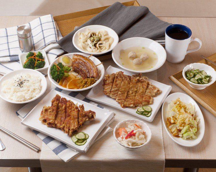 來自台中的文青風快餐店「一式」,台北首店進駐京站B3美食街。圖/京站提供
