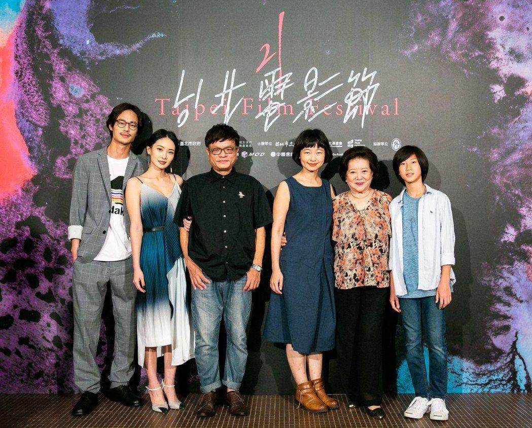 「野雀之詩」劇組。圖/台北電影節提供