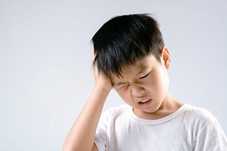 頭痛示意圖。 圖/123RF