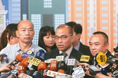 旗津小三通爭議 韓國瑜押著潘恒旭道歉