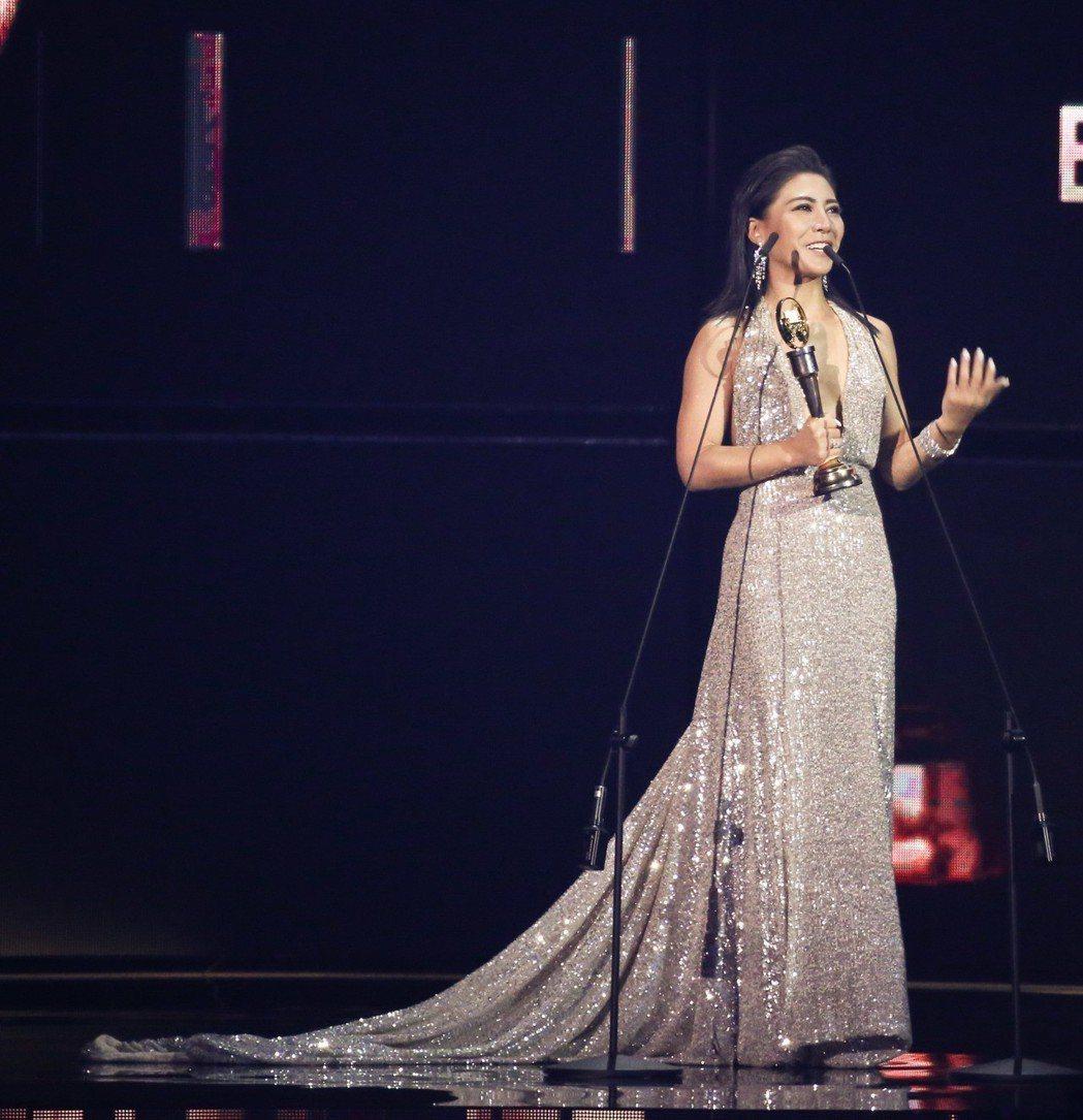 第30屆金曲獎,最佳作曲人獎由艾怡良獲得。記者林伯東/攝影