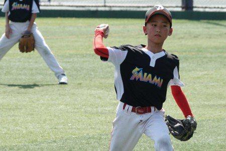 兩岸棒球賽/大聯盟深耕 馬林魚隊也來打