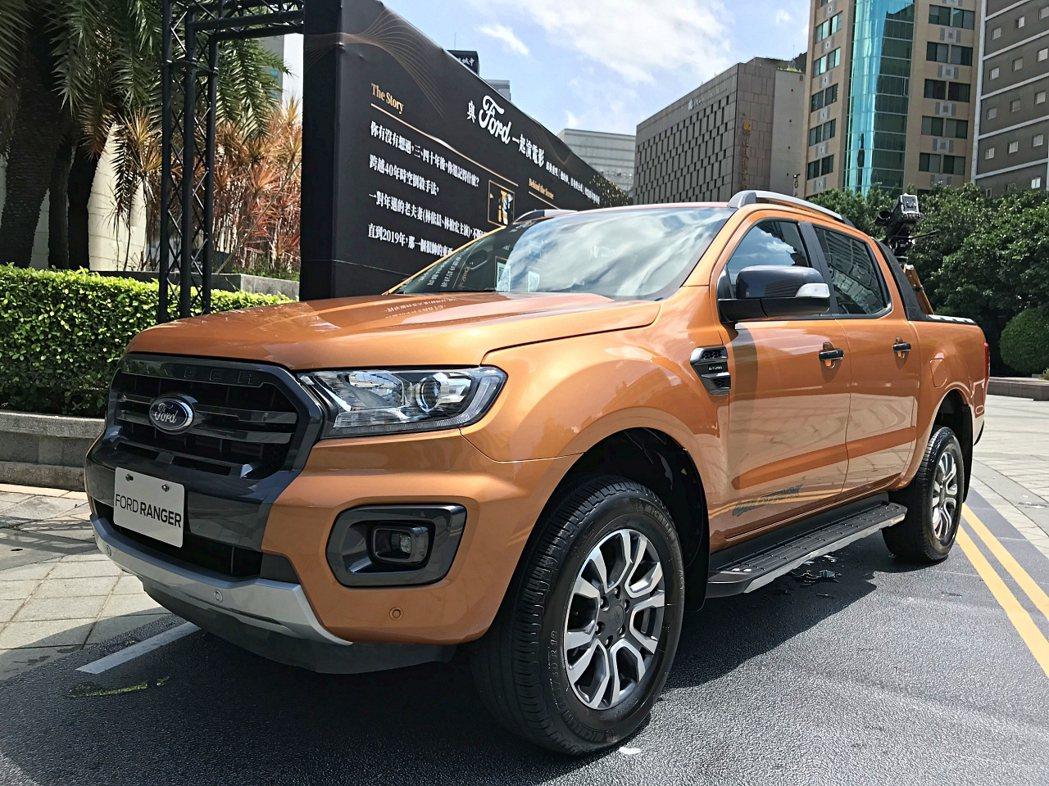 Ford_Ranger時常做為拍攝電影時架設機器及工作人員使用的拍攝工作車型,擁...
