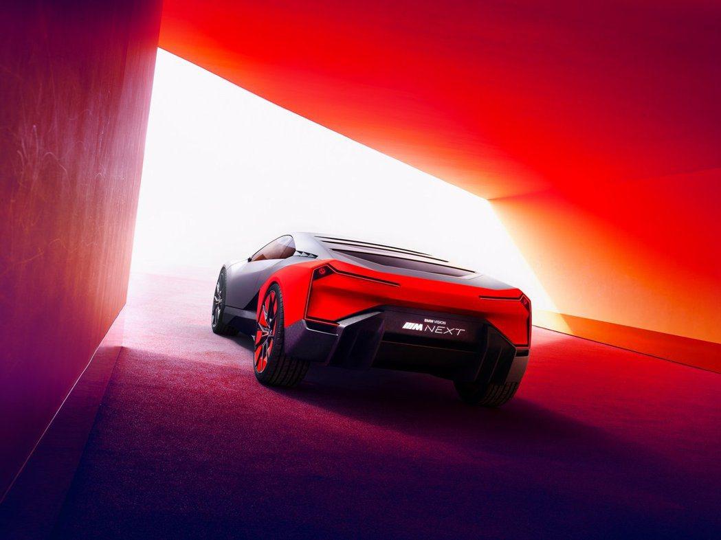 BMW Vision M Next全新概念車。 摘自BMW