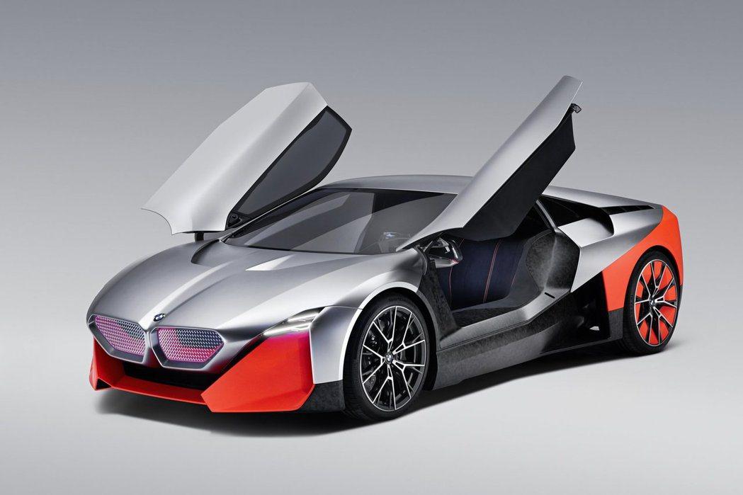BMW Vision M Next。 摘自BMW
