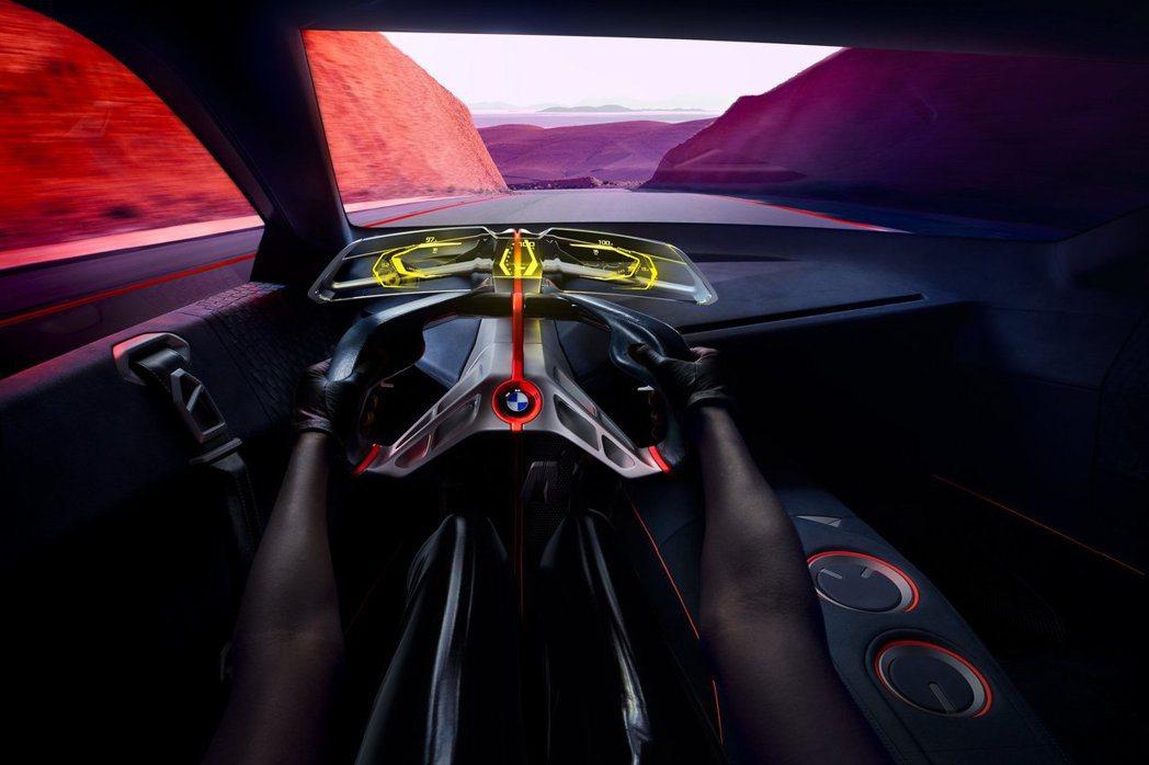 BMW Vision M Next 座艙。 摘自BMW