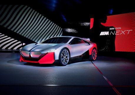也許是下一代i8? BMW Vision M Next慕尼黑發表!