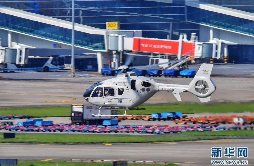 深圳到香港直升機跨境航線,從深圳寶安機場起飛,約15分鐘後抵達香港信德直升機場。...