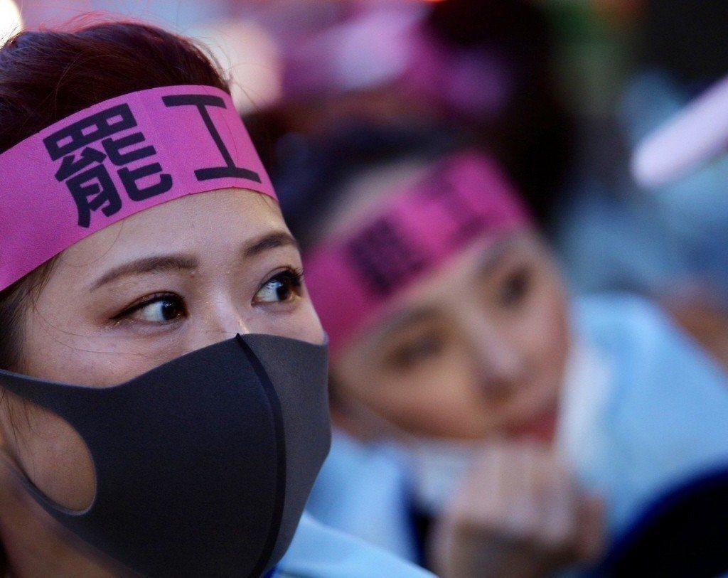 長榮空服罷工,是場「信仰」之爭。聯合報系資料照
