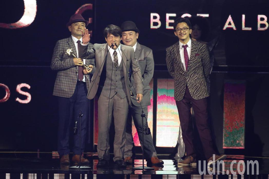 第30屆金曲獎,演奏類最佳專輯獎由Lines & Stains獲得。記者林伯東/