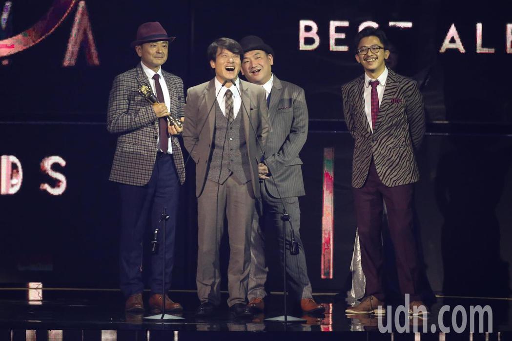 第30屆金曲獎,演奏類最佳專輯獎由Lines & Stains獲得。記者林伯東/...