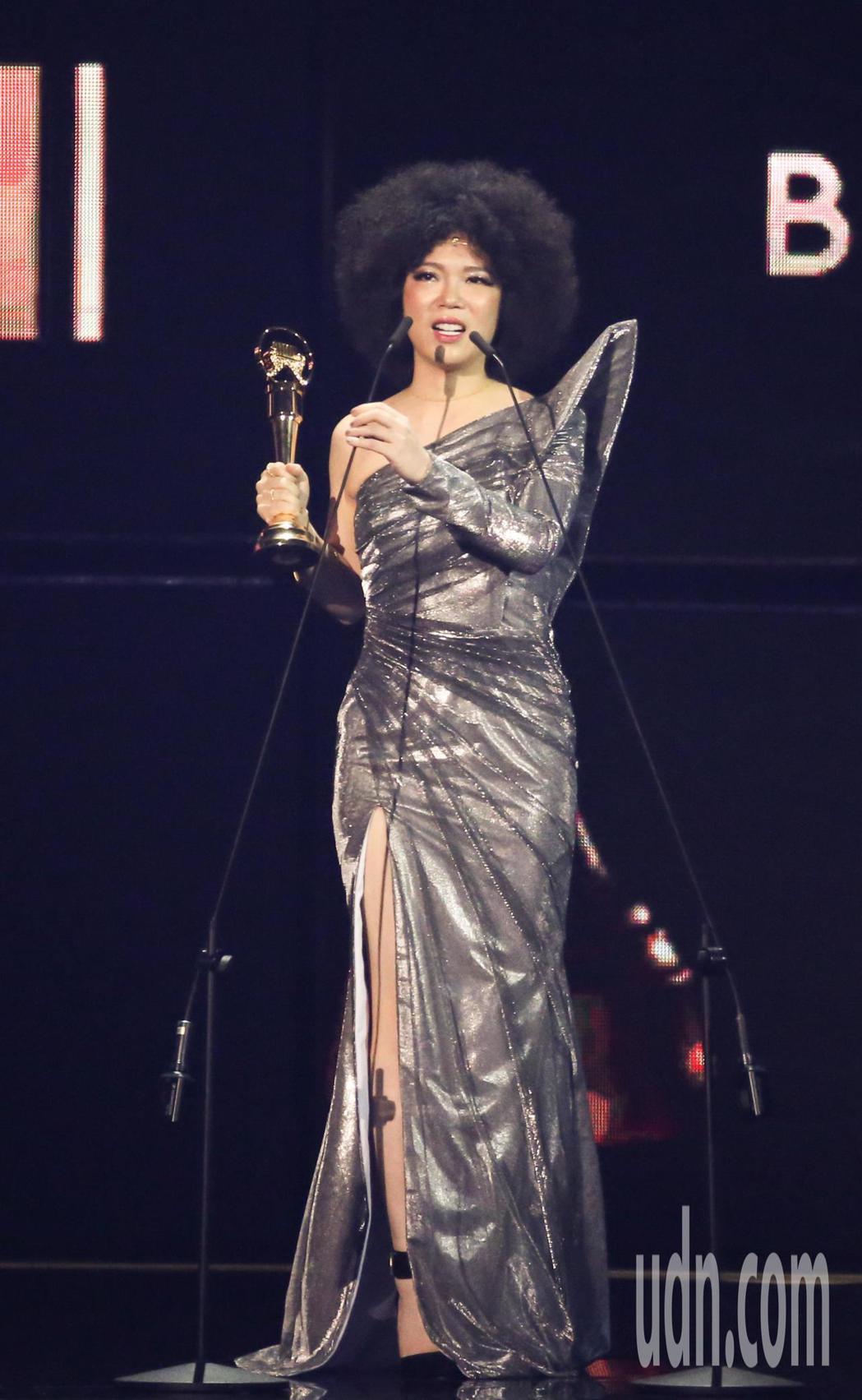 第30屆金曲獎,演奏類最佳作曲人獎由許郁瑛獲得。記者林伯東/攝影
