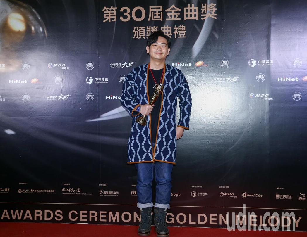 金曲獎最佳演奏錄音專輯獎得主為The Journey。記者曾原信/攝影