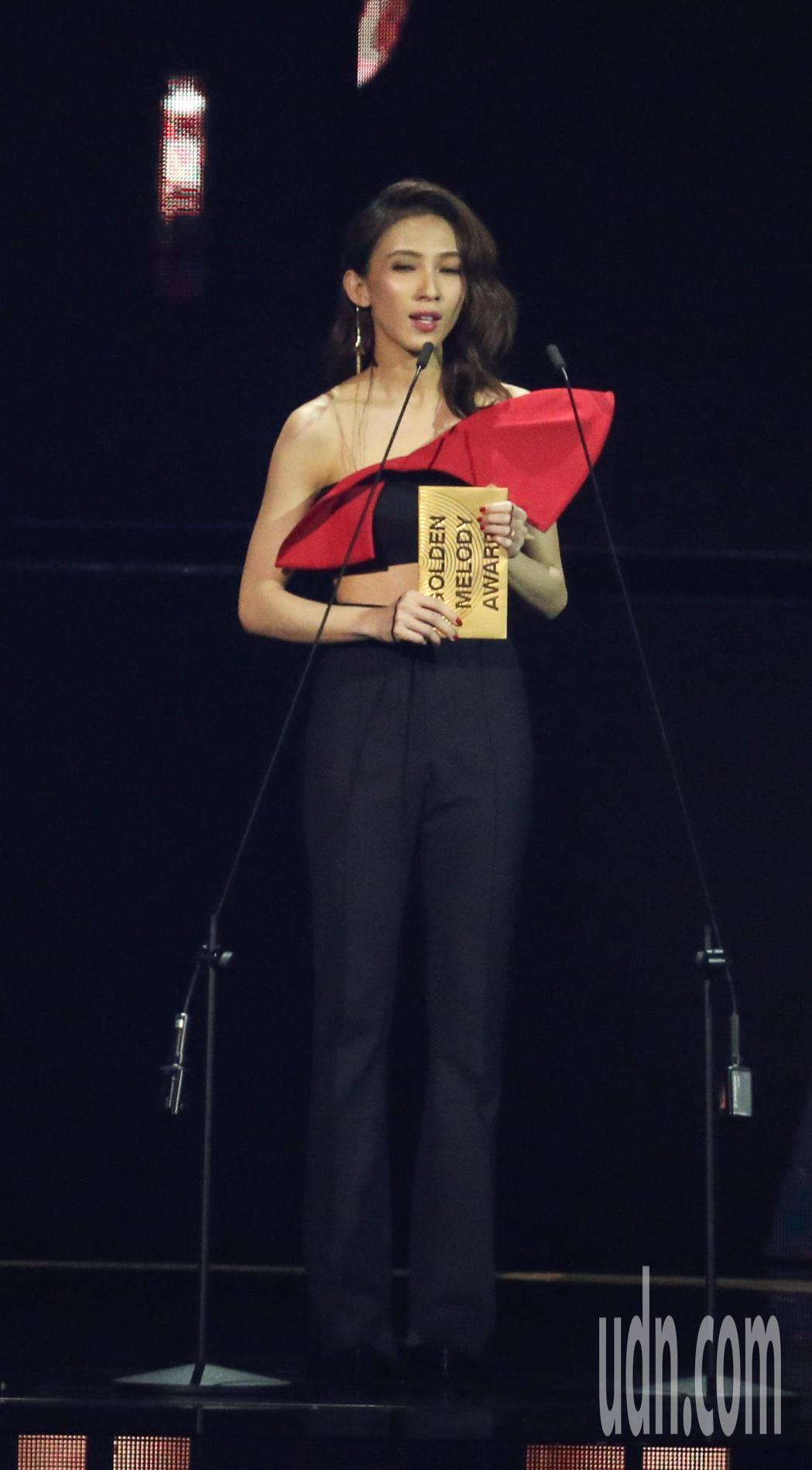 戴佩妮金曲頒獎。記者林伯東/攝影