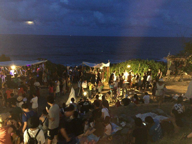 花蓮海或市集每年都能吸引大批民眾前往參與。圖/讀者提供