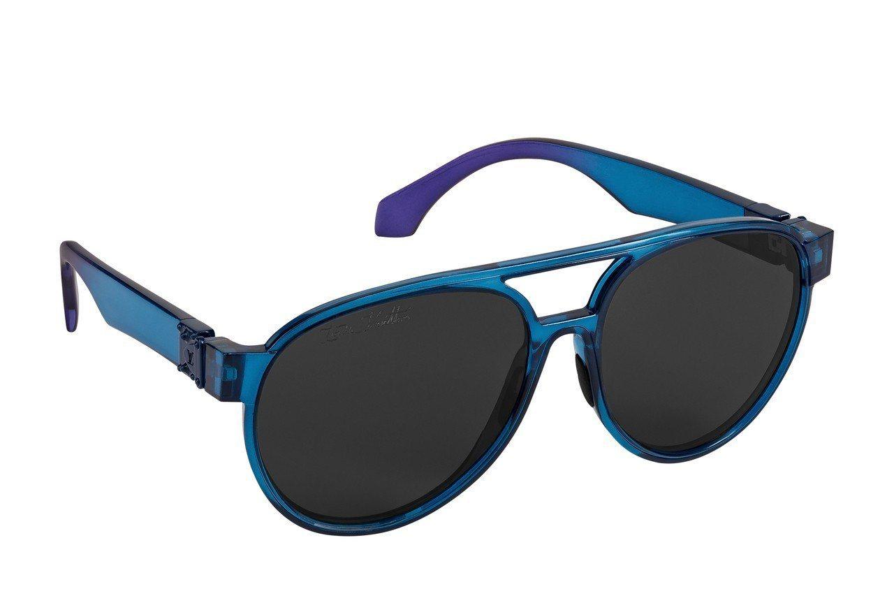 路易威登彩虹系列PILOT太陽眼鏡,15,200元。圖/Louis Vuitto...