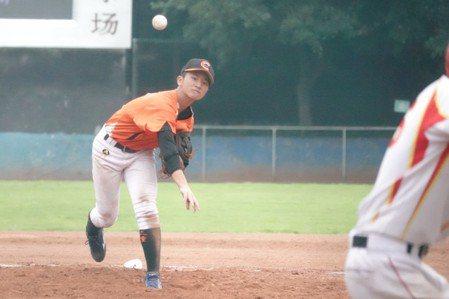 兩岸棒球賽/校長迷棒球 二重國中潛力好投多