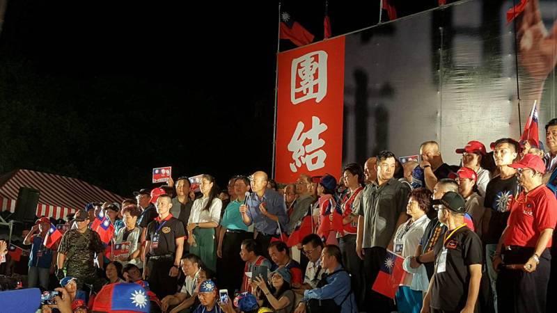韓國瑜邀請全台鄉親在7月6日手拿、身穿國旗來高雄觀光旅遊,藉此替代造勢。記者黃瑞典/攝影