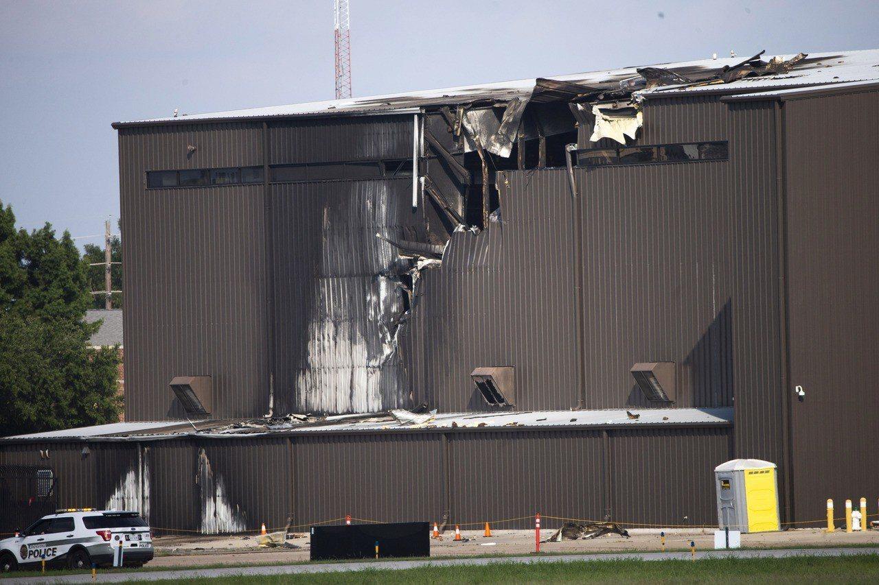 德州驚傳飛機墜毀。美聯社