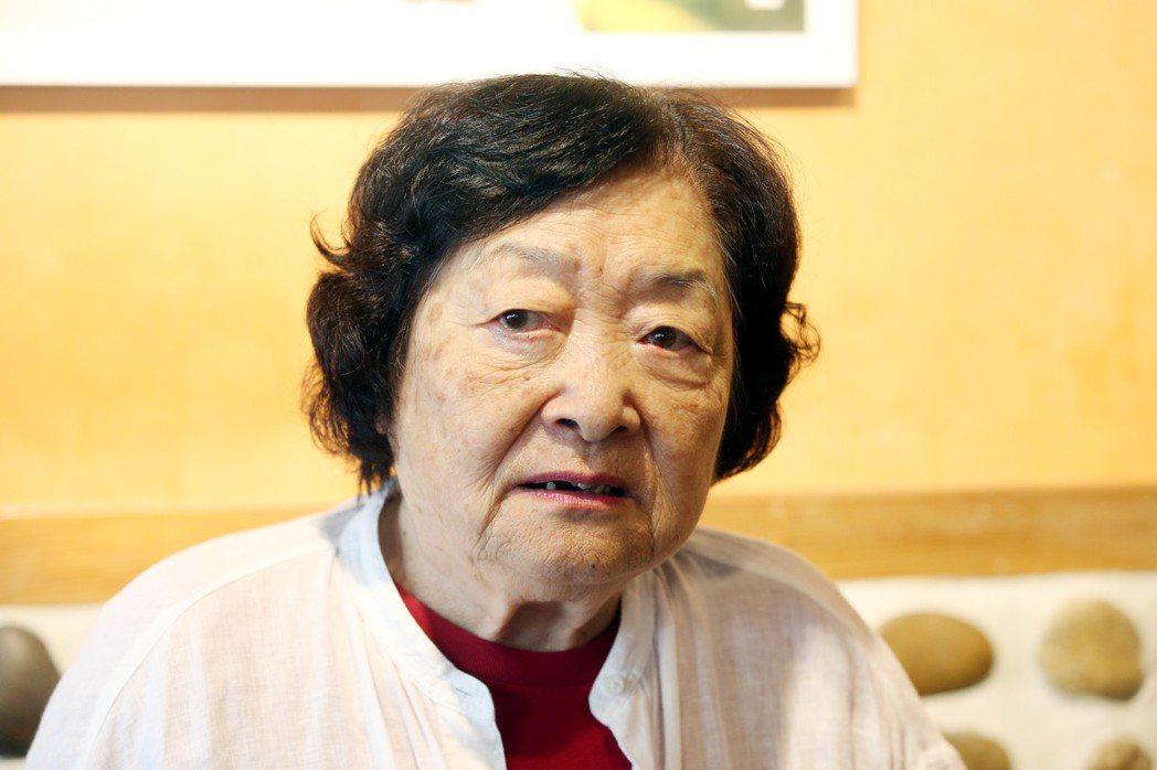 劉引商奶奶。記者邱德祥/攝影