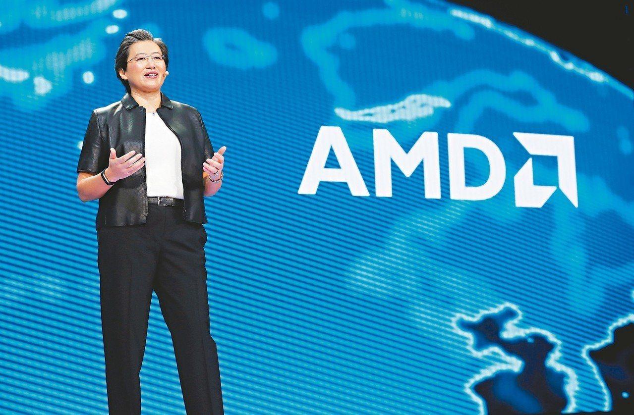 AMD執行長蘇姿丰 路透