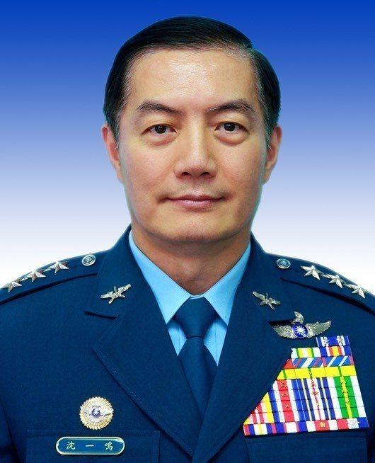 國防部副部長沈一鳴調任參謀總長。 圖/國防部