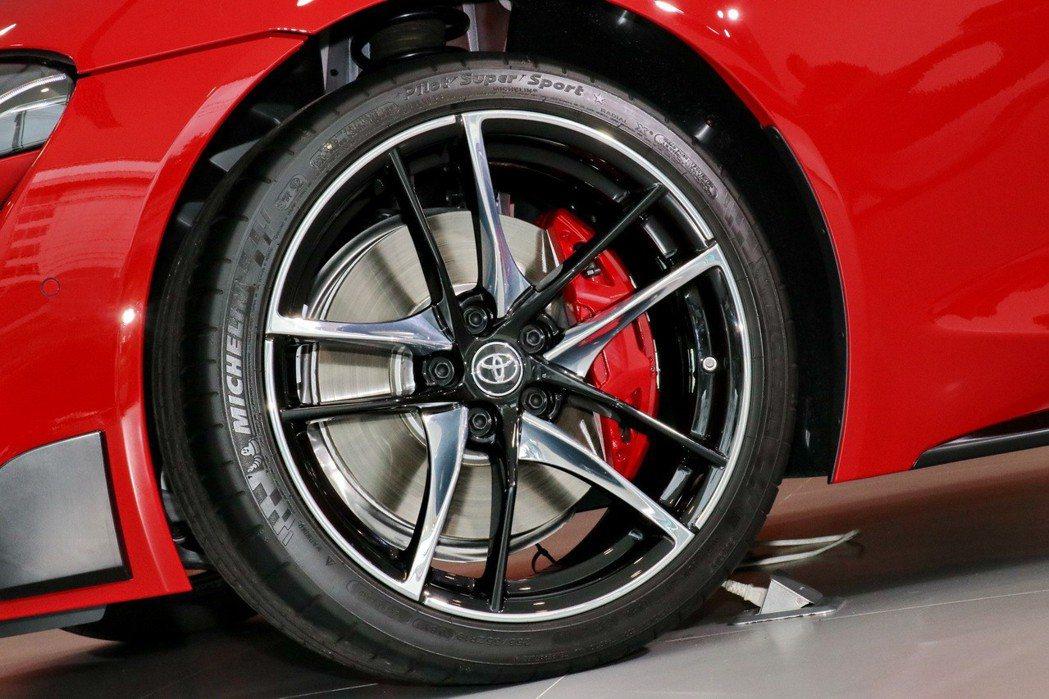 Michelin胎款廣泛運用在各類車型上。 記者陳威任/攝影