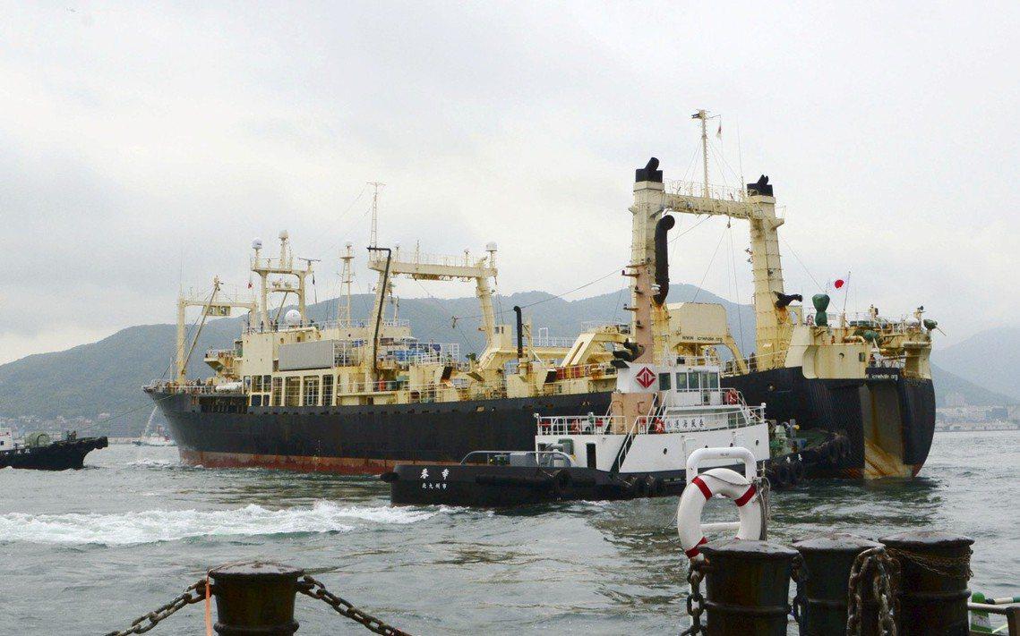 「能不能抓到還不曉得,只希望安全第一、平安返航。」本次出航的日新丸船長江口浩司向...