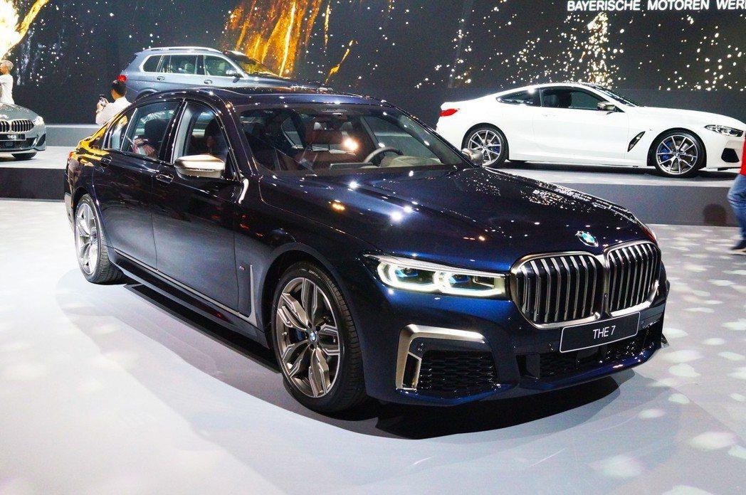 BMW G12 M760Li xDrive。 記者趙駿宏/攝影