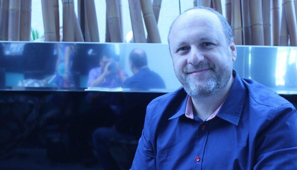 總裁 David Cage。圖片來源:GamesBeat。