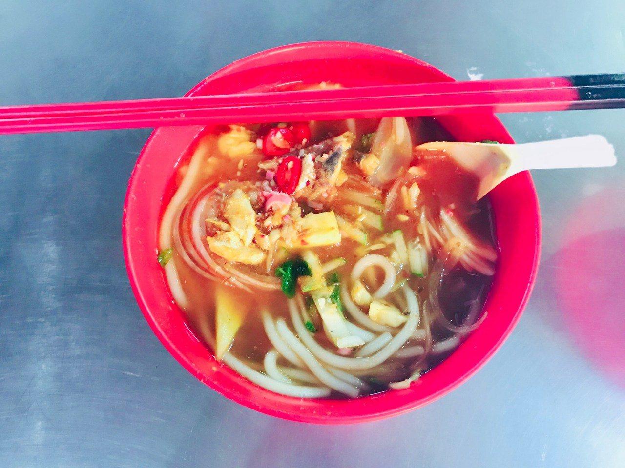 ▲馬來西亞檳城美食-灣島頭叻沙。(圖/Tripbaa趣吧!亞洲自由行專家)