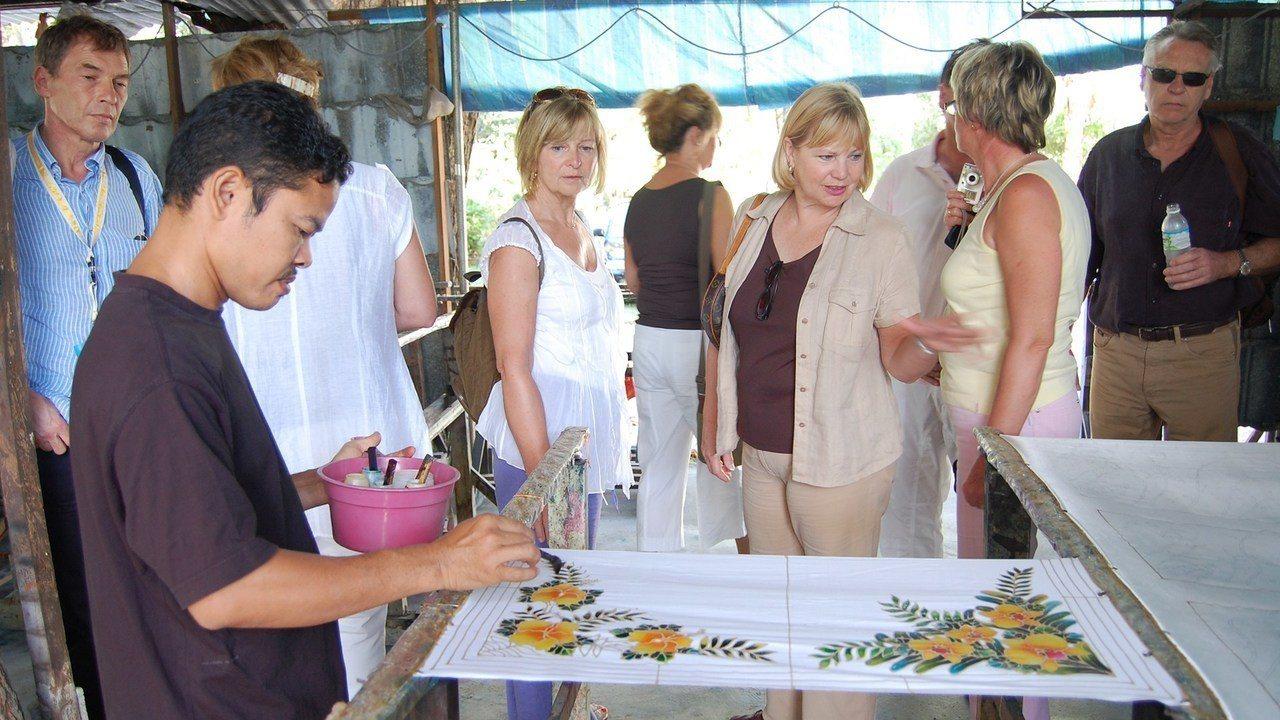 ▲馬來西亞檳城景點推薦-Batik蠟染工廠。(圖/Tripbaa趣吧!亞洲自由行...