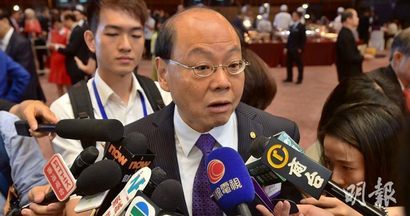 香港警務處前處長曾偉雄稱,沒必要設獨立調查委員會。取自香港明報