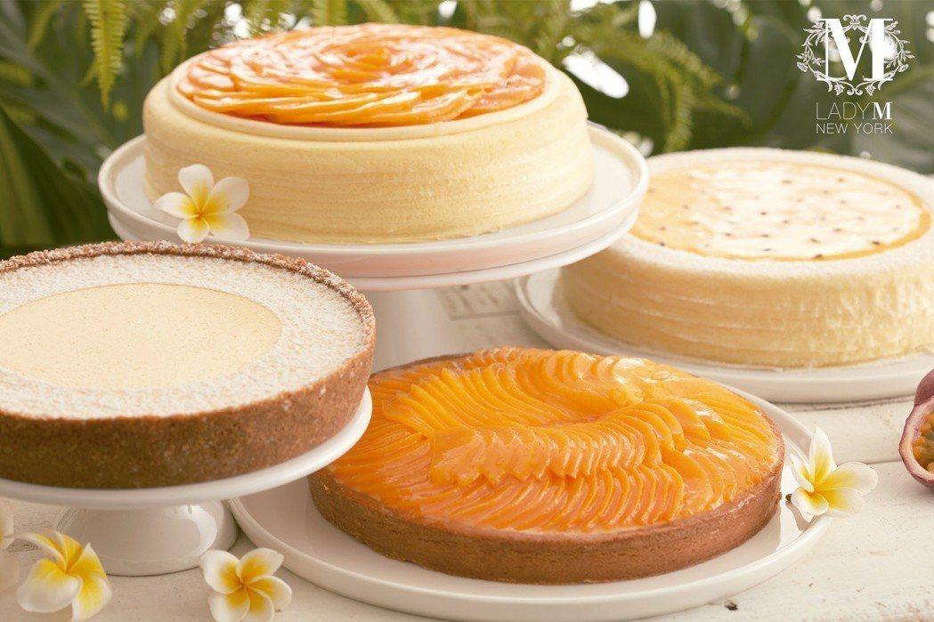 7月4日當天只要740元,就可以購買三片蛋糕(口味任選)。圖/Lady M提供