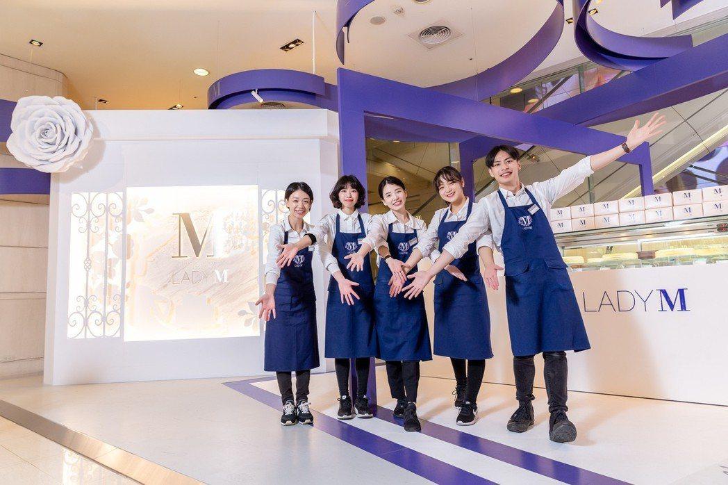 Lady M台中店將於8月底登場。圖/Lady M提供