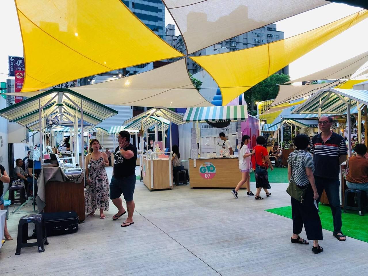 桃園G10貨櫃市集新貌 歐風玩樂神級美食陪你FUN暑假