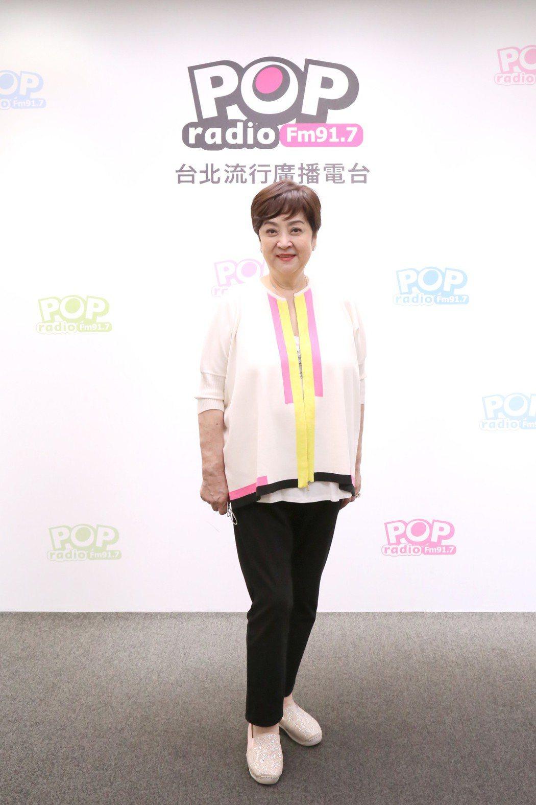 甄珍近日推出自傳「真情真意」。圖/POP Radio提供