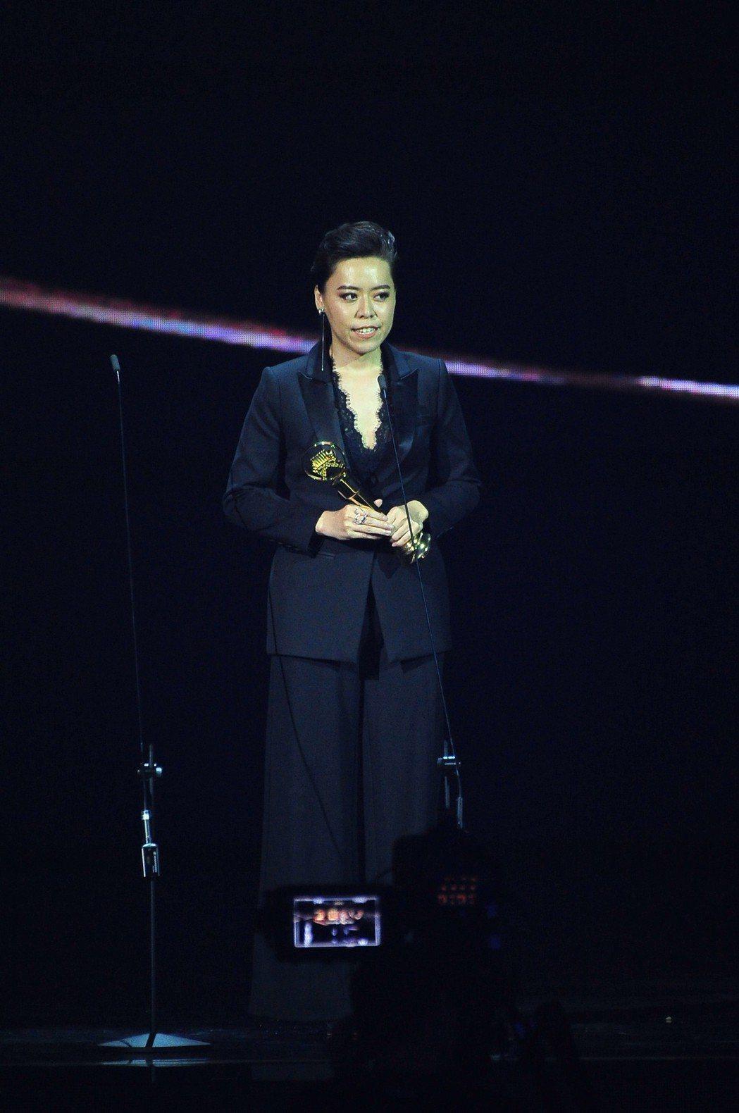 中華電信員工江惠儀拿下台語歌后。圖/台視提供