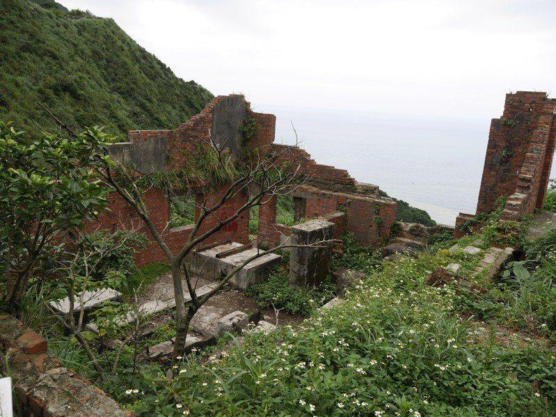 金瓜石的五大運礦系統很特別,有架空索道,斜坡索道,無極索道,平面,還有電梯。記者吳淑君/攝影