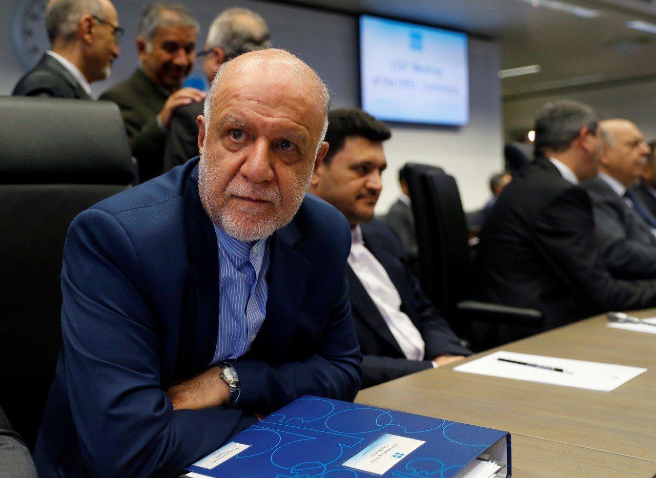 伊朗石油部長桑賈尼。路透